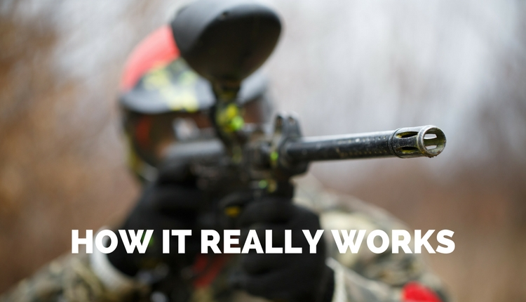 How A Paintball Gun Really Works