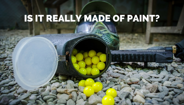 What Paintballs Are Made Of